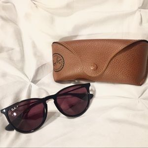 Ray-Ban Polarized Erika Sunglasses w/ Case